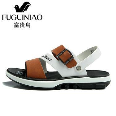 富贵鸟  凉鞋2018夏季新款沙滩鞋休闲男士凉拖鞋