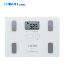 欧姆龙 (OMRON)电子体重秤简易体脂仪家用人体脂肪秤智能测量仪器HBF-212 白色