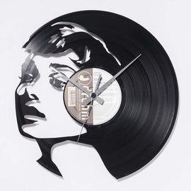 DIS C'O'CLOCK 意大利原产奥德丽黑胶唱片碟挂钟钟表