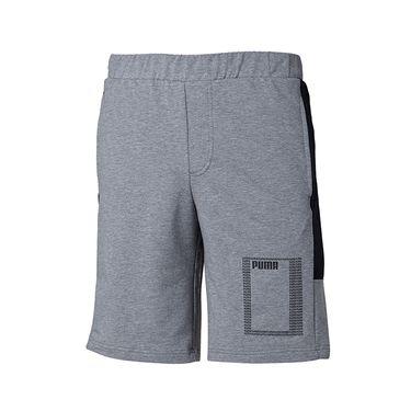 PUMA彪马 男裤2018夏季新款宽松透气运动裤休闲裤五分裤短裤852244