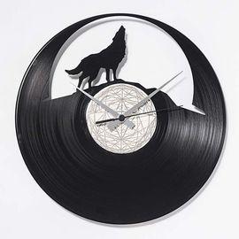 DIS C'O'CLOCK 意大利原产饿狼传说黑胶唱片碟挂钟钟表