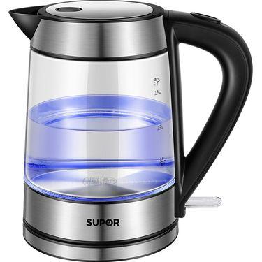 苏泊尔 玻璃电水壶热水壶高硼硅玻璃电热水壶 SWF17E26A