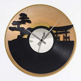 DIS C'O'CLOCK 意大利原产夕阳之美黑胶唱片碟挂钟钟表