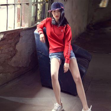 makino/犸凯奴 2018年新款 舒适柔软 女款运动卫衣 时尚休闲外套
