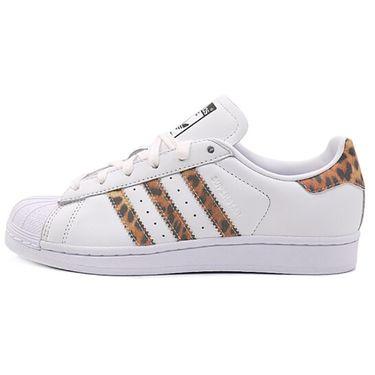 阿迪达斯 三叶草女鞋 夏季新款贝壳头运动鞋SUPERSTAR低帮休闲鞋板鞋 CQ2514