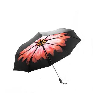 蕉下 BANANAUNDER防晒双层小黑伞晴雨两用伞三折伞(岚朵)