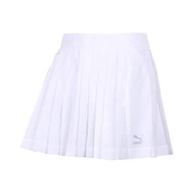 PUMA彪马 女装 2018夏季新款裙子休闲运动裙百褶裙短裙576463