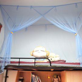 艾桐 蚊帐 学生蚊帐 宿舍上下铺子母床高低双层床纹帐