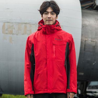 探路者 TOREAD 户外男式套绒冲锋衣 TAWE91603 防风 防水 保暖