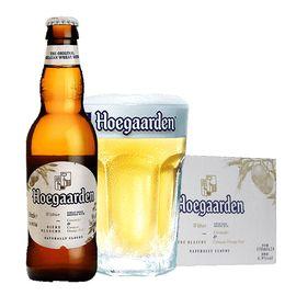 福佳 Hoegaarden 比利时风味精酿啤酒  福佳白啤酒 330ml整箱24瓶