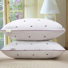 纽菲思 一对装 五星酒店柔软舒适成人高弹 枕芯 小鸭子枕头午睡真空压缩枕二只装