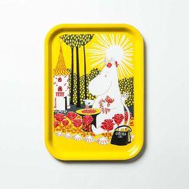 Opto Design 瑞典原产 姆明系列木质托盘餐盘果盘阳光姆明