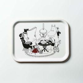 Opto Design 瑞典原产 姆明系列木质托盘餐盘果盘姆明爸爸