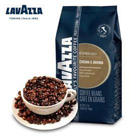 拉瓦萨 意大利原装进口 lavazza 咖啡豆1千克意式醇香1000g 浓缩咖啡豆