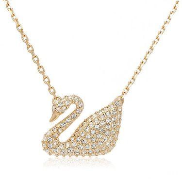 施华洛世奇 Swarovski 施华洛世奇 Swan项链人造水晶5063921