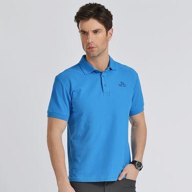 伯希和 PELLIOT速干T恤 男女夏季情侣时尚修身透气户外运动短袖polo衫