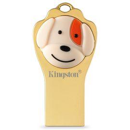金士顿  USB3.1金属优盘 个性U盘 狗年定制纪念版  64G