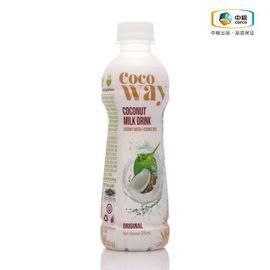 中粮  Cocoway 可可维原味椰子乳饮料(椰味浓郁,口感纯正、不添加防腐剂)270ml*12瓶(泰国进口 瓶)
