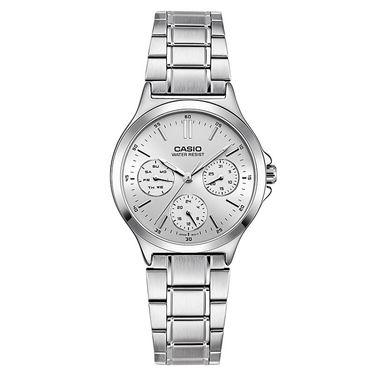 卡西欧 (CASIO)手表 大众指针系列 石英女表 LTP-V300D-7AUDF