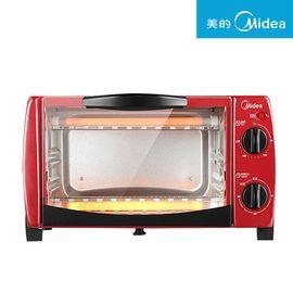 美的 /Midea 家用多功能电烤箱 双层烤位 T1-102D 红