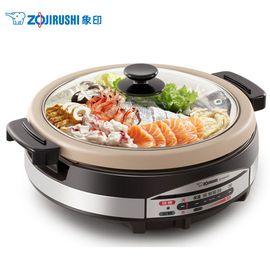 ZOJIRUSHI/象印 5.3L  多用途锅 不锈钢家用多功能电火锅 料理蒸煮锅  RAH30C