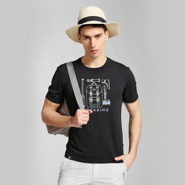 伯希和  PELLIOT运动t恤 男女短袖夏新款休闲健身上衣圆领透气跑步T恤
