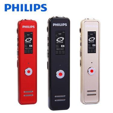 飞利浦 (PHILIPS) 【送充电器】VTR5100录音笔微型专业迷你高清降噪学生会议录音器防隐形