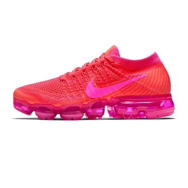 耐克  NIKE Air vapormax flyknit 大气垫超轻女子休闲跑步鞋 骚粉红849557-604