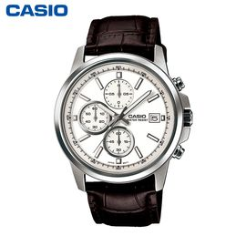 卡西欧 (CASIO)男表商务计时石英手表时尚腕表 MTH-5001L-7A