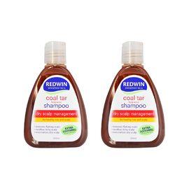 redwin 【两瓶特惠】煤焦油洗发水250ml*2 去屑止痒 澳洲进口 REX