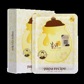 papa recipe/春雨 春雨 PaPa Recipe 蜂蜜面膜 10片装 韩国进口 亮肤水润保湿补水 小爷猪海外专营店