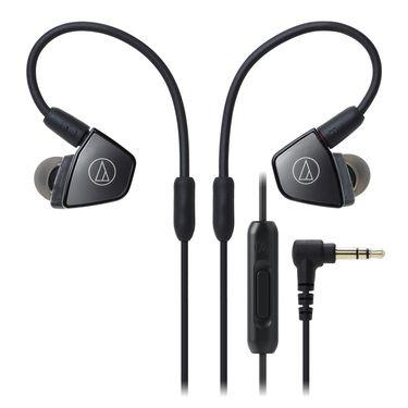 铁三角 Audio Technica ATH-LS300iS 三单元平衡电枢式耳机 手机音乐耳塞 线控通话耳麦