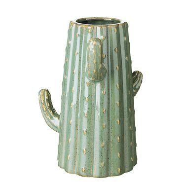 奇居良品 北欧ins仿真仙人掌创意陶瓷小摆件