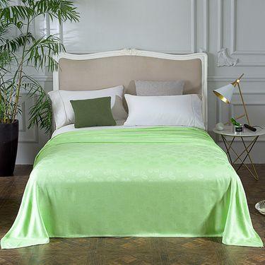 艾桐 天然竹纤维毯 透气凉毯 空调毯