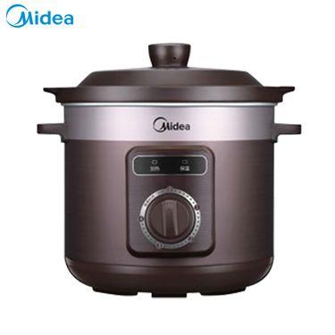 美的 电炖锅电炖盅 陶瓷煲汤锅家用全自动煮粥煲汤TGH40D