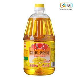 鲁花 5S压榨一级花生油1.8L 非转基因 物理压榨 食用油 健康美味 花生浓香 地道取材