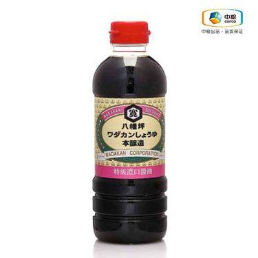中粮 八幡坪特级浓口酱油500ml (日本进口 瓶)
