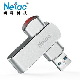 朗科 (Netac)U388 U盘128GB USB3.0高速 360度旋转金属车载U盘 闪存盘