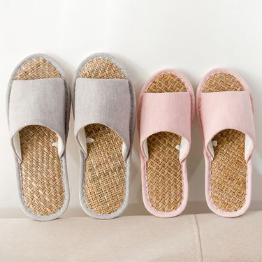 Doppio 草席pvc大底拖鞋 鞋码可选 颜色随机也可备注/DP-A169