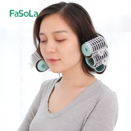 FASOLA 自粘空气刘海神器塑料卷发筒短发卷发夹大卷内扣卷发器美发工具