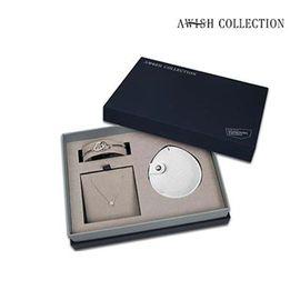 AWISH COLLECTION  AwishCollection【锁骨精品配饰项链套盒】}礼盒三件套