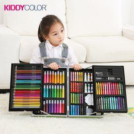 凯蒂卡乐 133件铝合金双层高档画笔套装儿童绘画首选