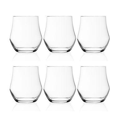 RCR 意大利进口  梵高系列 380ml晶质古典杯果汁杯 威士忌杯(6只装)