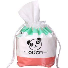 欧凯曼  一次性洗脸巾纯棉美容院常用面巾纸洗面巾擦脸巾旅行洁面巾(熊猫袋装)