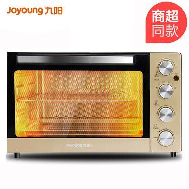 九阳 电烤箱32升家用烘焙 多功能 全自动蛋糕面包带烤叉烤箱 KX-30J3