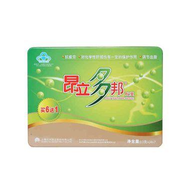 昂立 多邦胶囊 0.3g/粒*24粒*7袋 调节血脂抗疲劳 保健品 年货送礼