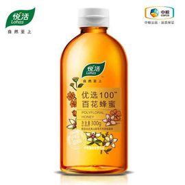 中粮 悦活优选100百花蜂蜜300g 优选产地 天然成熟 安全生产