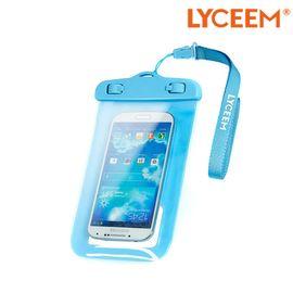 蓝橙Lyceem LYCEEM 蓝橙 手机防水潜水套 适用于iphone6 plus 水下可拍照 带挂绳臂带