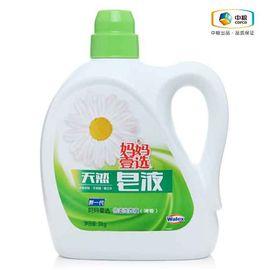 中粮 妈妈壹选倍柔洗衣液(天然皂液)清香3kg 洗护合一