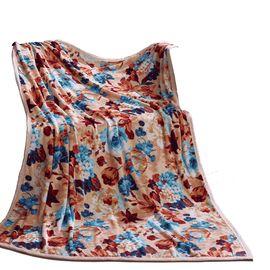 富安娜 居家、旅行、办公小憩之佳选 法兰绒毯/风姿溢彩 150*200cm
